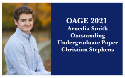 2021 Arnedia Smith Outstanding Undergraduate Paper