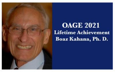 2021 Lifetime Achievement Award