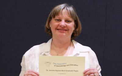2017 Dr. Jerome Kaplan Best Graduate Paper