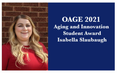 2021 OAGE Aging and Innovation Student Award